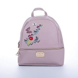 bebe Floral Embroidered Large Backpack NWT
